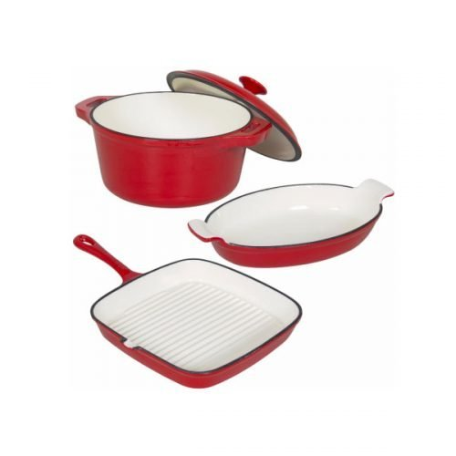 cast iron cookware set 02