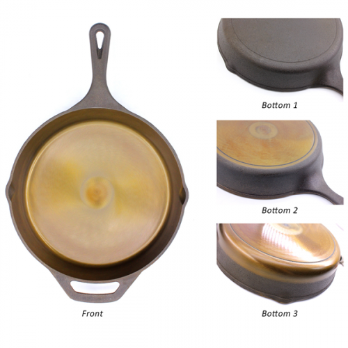 Geovein Polished Cast Iron Pans